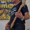 Unser Rockabilly-Cowboy am Bass